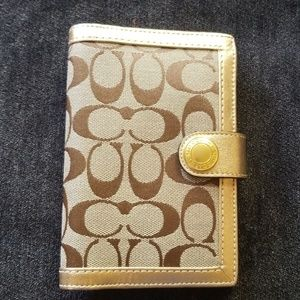 Coach Signature Collect Planner Address Book